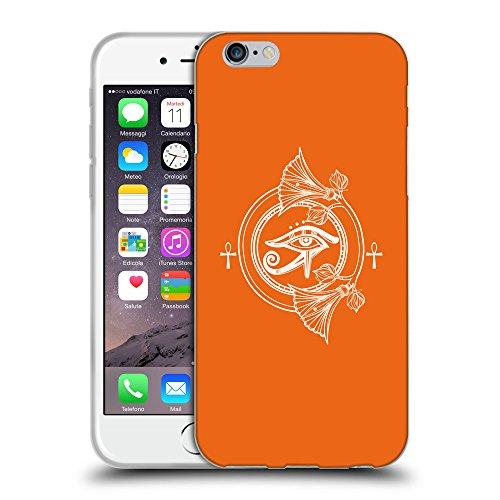 GoGoMobile Coque de Protection TPU Silicone Case pour // Q09960632 Religion 36 sécurité Orange // Apple iPhone 7