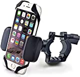 Bike & Motorcycle Cell Phone Mount - For iPhone 6 (5, 6s Plus), Samsung Galaxy Note or any Smartphone & GPS - Universal Mountain & Road Bicycle Handlebar Cradle Holder. +100 to Safeness & Comfort - CAW.CAR Accessories - amazon.com