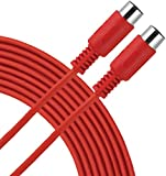 Livewire Essential MIDI Cable 15 ft. Red
