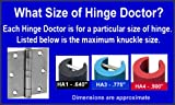 Hinge Doctor HA1D / HA3D Set For Commercial Hinges