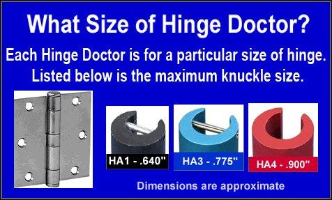 The Hinge Doctor Set HA134 by Hinge Doctor