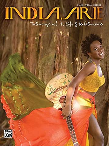 India.Arie Testimony: Vol 1 Life & Relationship Piano/Vocal/Chords (Aria Sheet Music)