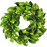 """Magnolia Leaf Fall Wreath, 30"""""""