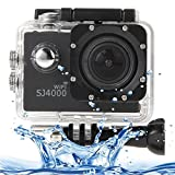 Sports Cameras, SJCAM SJ4000 WiFi Full HD 1080P 12MP Diving Bicycle Action Camera 30m Waterproof Car DVR Sports DV with Waterproof Case