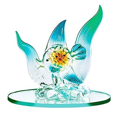 Blown Glass Fish - Miniature Fish Figurine Collectible, Handmade Ornament, Lampwork Figure