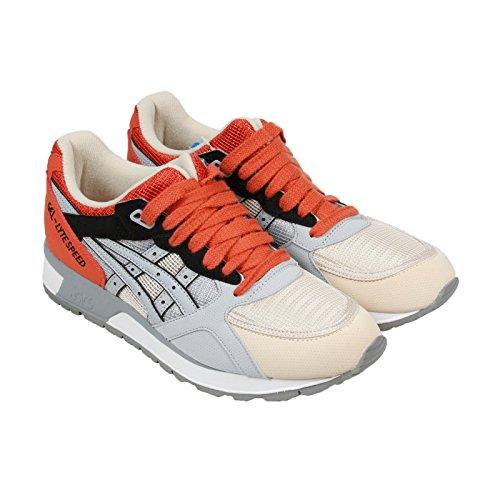 ASICS GEL Lyte Speed Retro Running Shoe, Light Grey/Light Grey, 12 M US