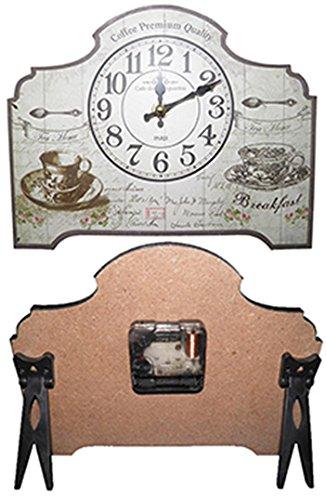 Relogio De Mesa Vintage Retro Decoracao Cafe da Manha (XIN-07)