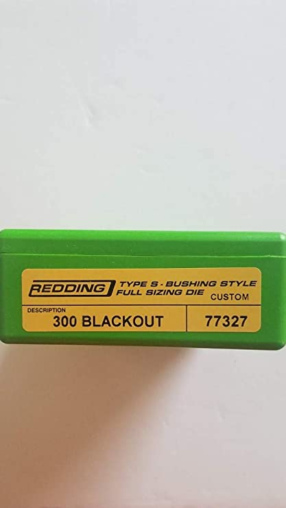 BRAND NEW 77111 REDDING TYPE-S FULL LENGTH BUSHING SIZING DIE 223 REMINGTON