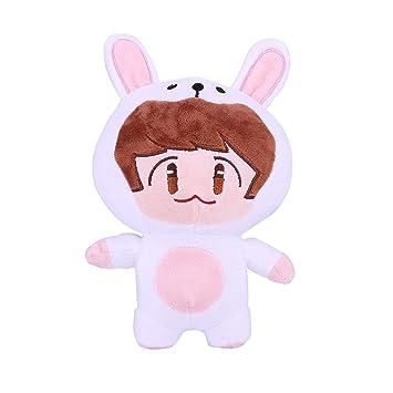 Amazon.com: Muñeca de peluche de Nuofeng Kpop, de dibujos ...