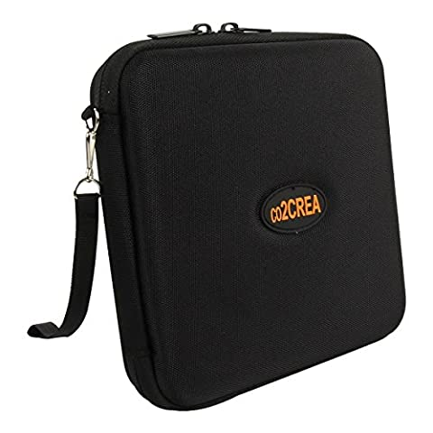 Hard Travel Case for LG Electronics 8X USB 2.0 Super Multi Ultra Slim Portable DVD Writer Drive +/-RW External Drive by (Buffalo 1 Tb External Hard Drive)