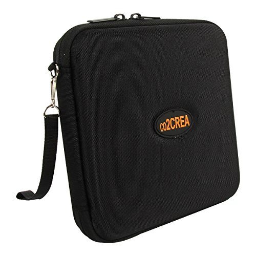 Hard Burners (Hard Travel Case for LG Electronics 8X USB 2.0 Super Multi Ultra Slim Portable DVD Writer Drive +/-RW External Drive GP65NB60 by co2CREA)