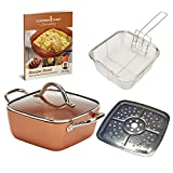 Copper Chef 7 Inch Everyday Pan with Lid (7 Inch With Lid and Accessories)