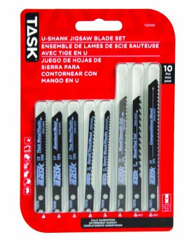 Task Tools T22124 10-Piece Jigsaw Blade Set