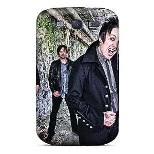 KerryParsons Samsung Galaxy S3 Shock Absorption Cell-phone Hard Covers Custom HD Papa Roach Image [uXP2391qeAj]