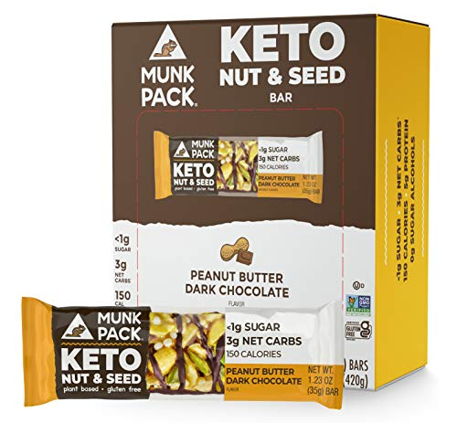 Munk Pack Keto Nut & Seed Bar, 1