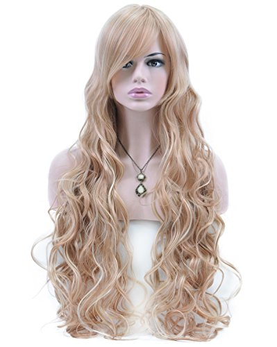 Extra Long Curly Wig - 5