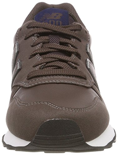 Brown New Marrone Dark Navy Balance Dbn Uomo 500 Sneaker 7wzqYH