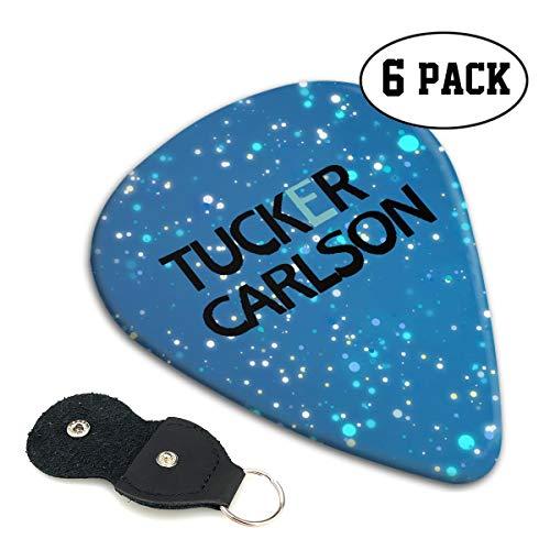 Tucker Carlson Sampler Guitar Picks - 6 Pack Complete Gift Set for Guitarist Best Gift for Guitarist