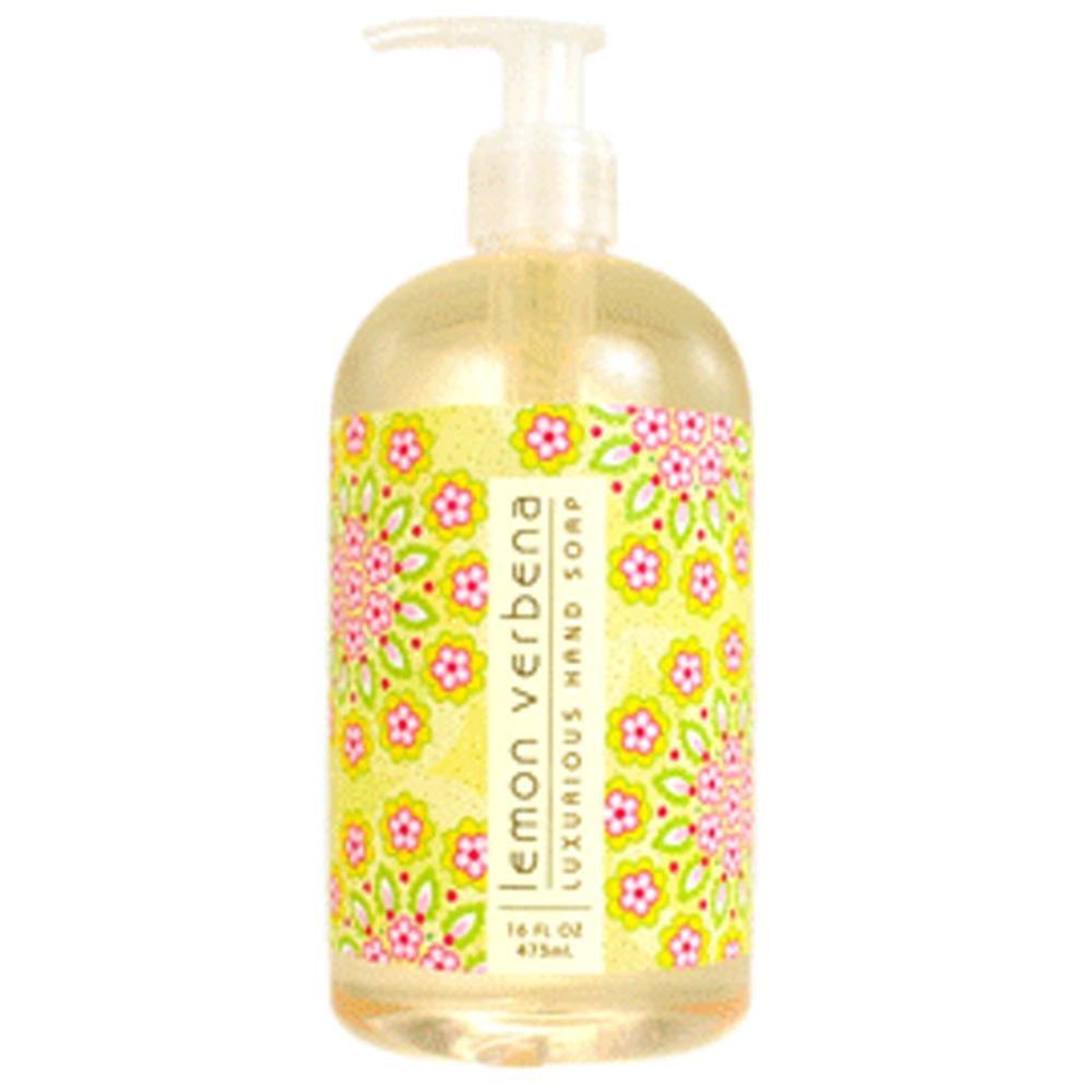 Greenwich Bay Trading Co. Luxurious Hand Soap, 16 Ounce, Lemon Verbena