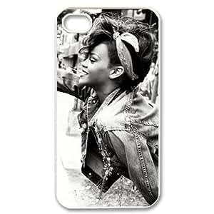 C-EUR Customized Print Rihanna Pattern Back Case for iPhone 4/4S Kimberly Kurzendoerfer