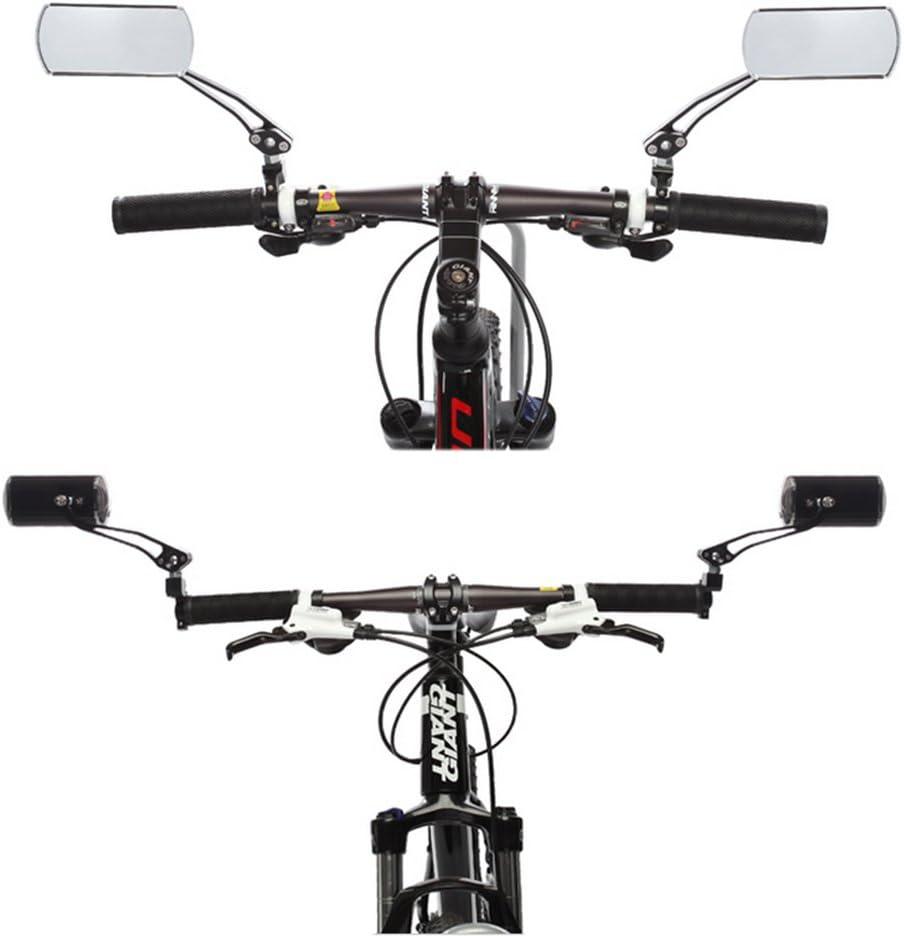 SAFLYSE - Espejo retrovisor para bicicleta de montaña (giro de 360 ...
