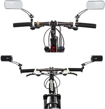 2er Universal Mini Fahrradspiegel Rückfahrkamera Lenker Glas Spiegel für Fahrrad