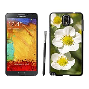 New Custom Designed Cover Case For Samsung Galaxy Note 3 N900A N900V N900P N900T With Strawberry Flowers Flower Mobile Wallpaper Phone Case