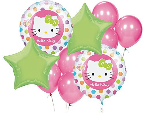 Hello Kitty Birthday Party Balloon Package -Includes (2)18