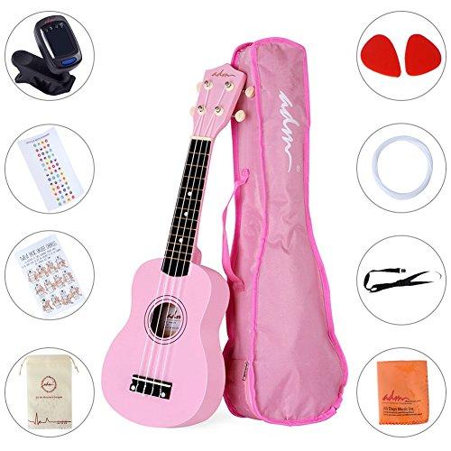 Best Pink Ukulele No.1: ADM Soprano Ukulele