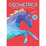 Geometrics: A Striking Color-By-Sticker Challenge