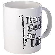 CafePress - Bass Clarinet Band Geek Mug - Unique Coffee Mug, Coffee Cup
