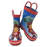 Daniel Tiger Toddler Boy Rubber Rain Boot with Handles