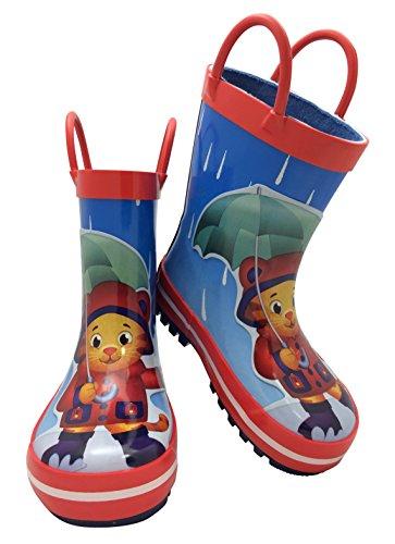 Daniel Tiger 37107 Rubber Rain Boot with Handles (7)