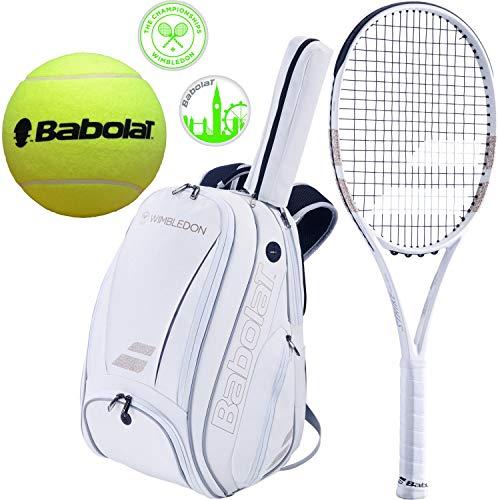 Babolat Pure Strike Team Wimbledon Tennis Racquet (4 1/4