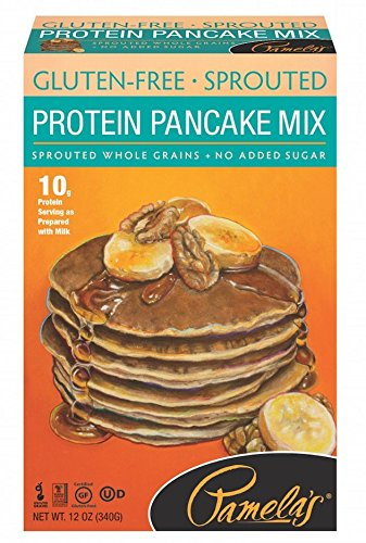 (Pamela's Products Gluten Free Sprouted Pancake Mix, Protein, 12 Ounce)