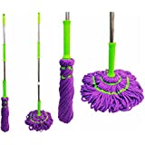 360 DEGREE TWIST MOP FLOOR MOP EASY ROTATING SQUEEZE MOPPING NEAT AND COMPACT HTUK®