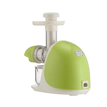 Odefc WYQzz Exprimidor jugo de cerámica de cerámica de baja velocidad de la máquina de zumo prensa de alimentación boca redonda Exprimidor eléctrico: ...