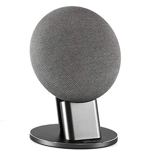 Supmega Google Home Mini Stand Metal Holder Accessories Mount- Space Grey