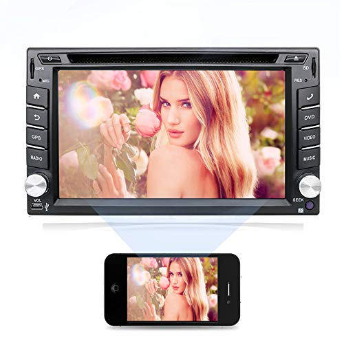 Double Din Head Unit,In Dash GPS Navigation with Rear Camera