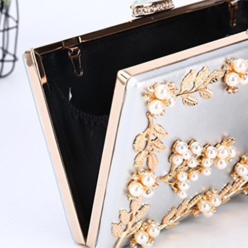 femme Silver Taille M Pochette fugenzhang pour wYqfHxFF4