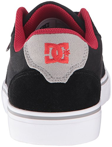 DC Herren M Anvil Halbschuh, EUR: 38.5, Black/Red/Grey