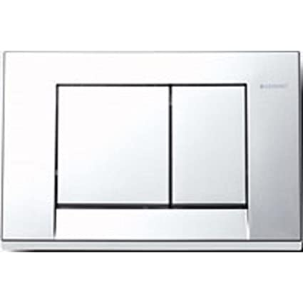 hot sale online 14cdc 9b6b5 Geberit Bolero Dual Flush Push Button Plate 115.777.21.1 Gloss Chrome for  Sigma Cisterns