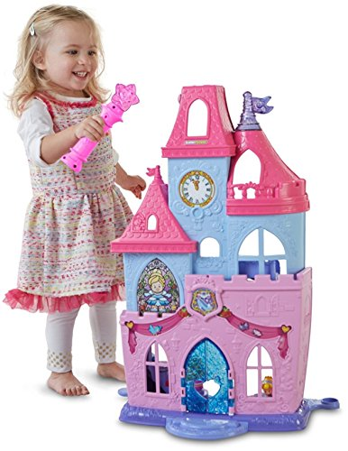 Sound Of Music Dance Costumes (Fisher-Price Little People Disney Princess Magical Wand Palace Playset)