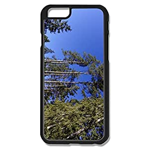 Trees Blue Sky Plastic Fantastic Case Cover For IPhone 6