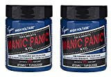 Manic Panic Semi-Permanent Hair Color Cream ATOMIC TURQUOISE 4 oz''Pack of 2''