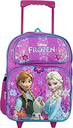 Amazon.com | Disney Frozen Rolling Backpack Full Size 16