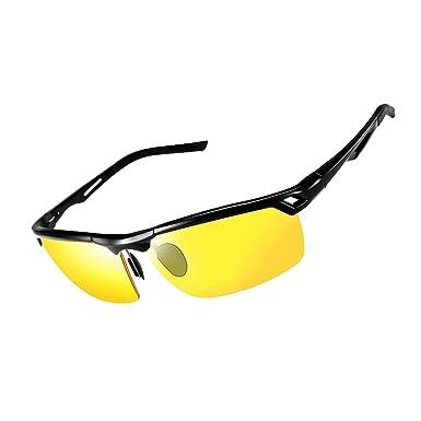 AidShunN Gafas De Sol Conducir Nocturnas para Hombre Mujer ...