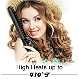 Curling Iron 1 1/4-inch Instant Heat with