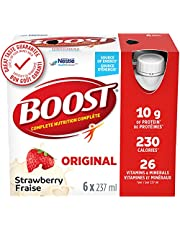 BOOST Original Meal Replacement Drink, Strawberry, 6 x 237 ml (Pack of 4)- PACKAGING MAY VARY