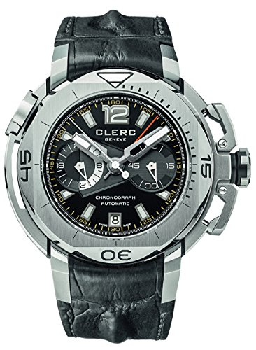 Clerc Hydroscaph Limited Edition Central Chronograph Watch Water Resist 500M CHY-157